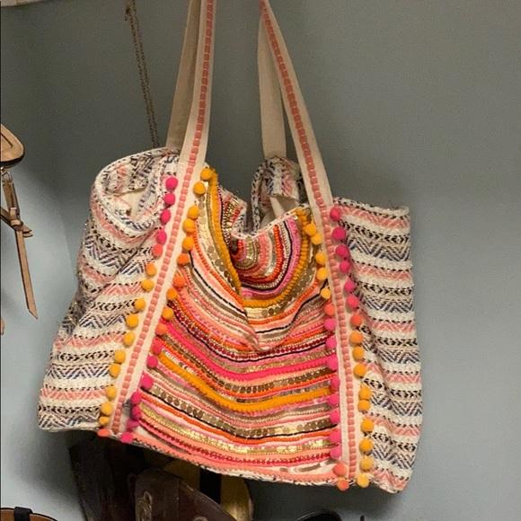 Parenting AF Canvas Tote Bag Reusable Carryall Bag Parenting: It Takes a Village and a Vineyard